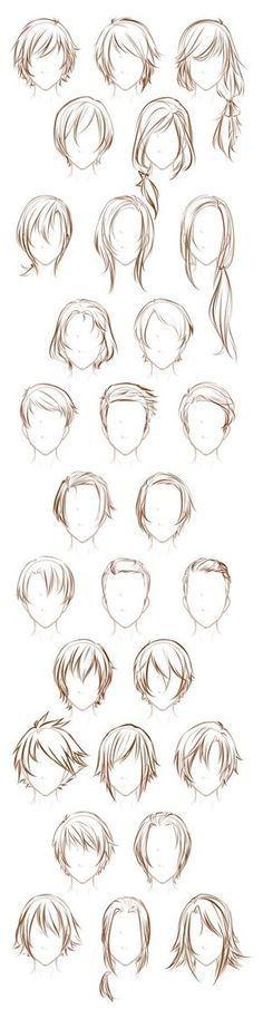 Après avoir dessiné cette feuille de mâles, j'ai décidé de dessiner quelques-uns de mes mâles ...,  #apres #avoir #cette #decide #dessine #feuille #males