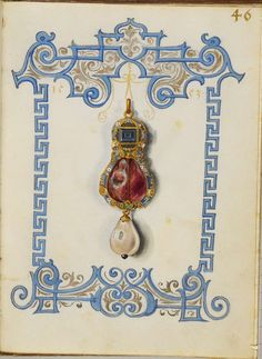 Jewel Book of the Duchess Anna of Bavaria (1550s) z | Flickr - Photo Sharing!