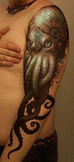 Detailed octopus/squid