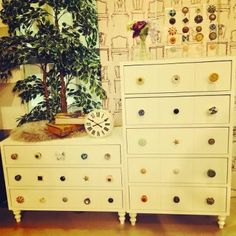 dresser with different knobs ハンドルストックチェスト Francfranc