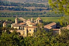 Poblet Monastery in Catalonia, World Heritage by UNESCO.