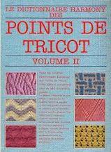 Dictionnaire Harmony Point de tricot vol.2 Tel