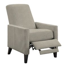Handy Living Ingrid Push Back Recliner Reviews Wayfair