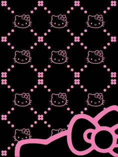 hello kitty pictures black - Bing Imágenes