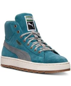 Puma Women's Suede Winterized Rugged Casual Sneakers from Finish Line - Finish Line Athletic Shoes - Shoes - Macy's