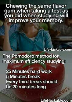Study tips. worth a shot
