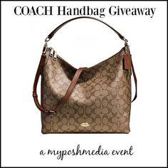 #contest #win a #COACH CELESTE CONVERTIBLE HOBO EVENT #handbag #giveaway #coachhandbag