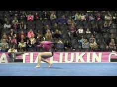 Wynter Childers - Floor Exercise - 2016 Nastia Liukin Cup - YouTube