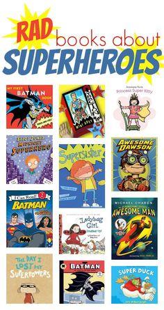 About Superheroes a dozen great superhero books for kids to check out!a dozen great superhero books for kids to check out! Superhero Books, Superhero Classroom Theme, Classroom Themes, Superhero School, Superhero Academy, Summer Reading Program, Kids Reading, Reading Nook, Reading Themes