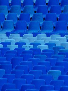 Blue auditorium