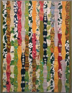 nifty quilts: Tiki Room - So many variations could be made