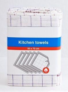 Bavlněná kuchyňská utěrka FL, červené a modré káro, 1 kus, 50x70cm - Utěrky - ... a ještě více | Internetový obchod Chci POVLEČENÍ.cz Kitchen Towels, Container, Internet, Tea Towels