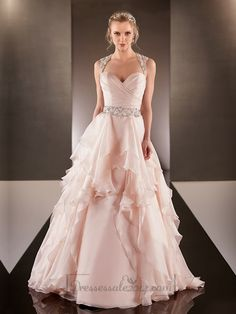 Cap Illusion Sleeves Asymmetrical Ruched Bodice A-line Wedding Dresses