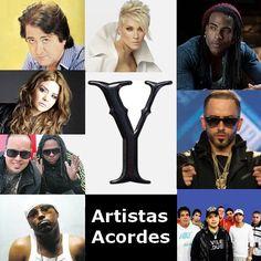 Artistas con Y (Lista) canciones con letras y acordes de guitarra y piano