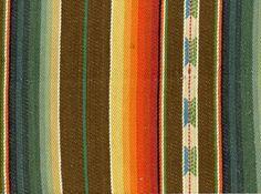 Aztec Woven Cotton Fabric Multi