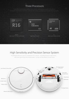 Original Xiaomi Mi Home Smart Robot Vacuum Cleaner LSD and SLAM 1800Pa 5500mAH with APP Control at Banggood