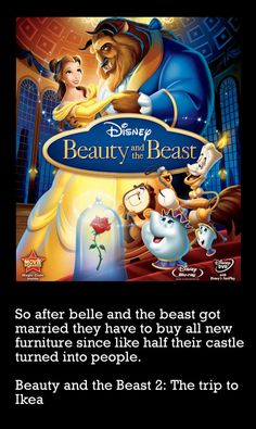 Beauty and the Beast 2, the much anticipated sequel. Slightly less exciting than anticipated.