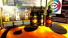 This just in ! The Lost Fog Collection by Cosmic Fog.  Got 30ml bottles in 0/3/6/ &12 MG