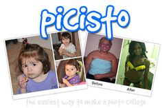 Picisto - Make a photo collage: choose layout, add text, save & download. http://www.picisto.com