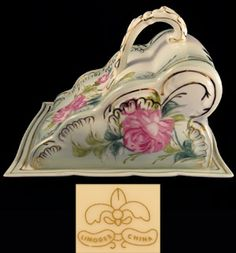 Limoges Covered Cheese Dish