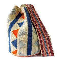 SHOP WAYUU BAGS | Empowering Artisans | Lombia + CO. Crochet, Artisan, Knitting, Handmade, Bags, Shopping, Fashion, Craft, Trapillo