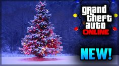 GTA 5 Online Holiday DLC Update - NEW Snowball Launcher, Christmas Apartment, & More! (GTA 5 PS4)