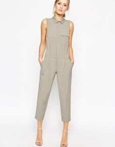 ASOS Tailored Sleeveless Boilersuit