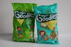 Chic Geek Diary: Organix Goodies Cheesy Pea Snaps & Lentil Hoops - ...