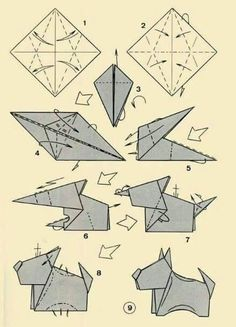 Scottie Origami