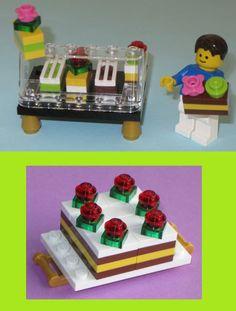 Lego Custom Cake Bakery Set: Wedding Cake von LegoInspirations