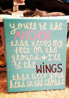 Pi Phi and DG craft- Angels and Anchors #piphi #pibetaphi my roommate maddie is a DG and im a Pi Phi i am so making this for her for her birthday!!!
