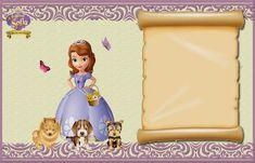 PARA IMPRIMIR: Kit imprimible de Princesa Sofía