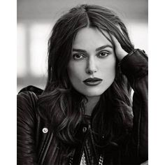 Keira Knightley by Mariano Vivanco for Elle UK March 2015 ❤ liked on Polyvore featuring people, faces, models, hair and photos