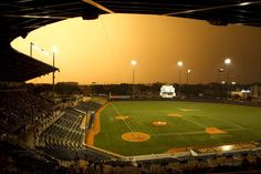 Disch-Falk Field - The Home of Texas Baseball since 1975. The stadium is named for former Longhorns coaches Billy Disch and Bibb Falk. With such an incredible amount of detail placed on the seating, there is truly not a bad seat in the house.