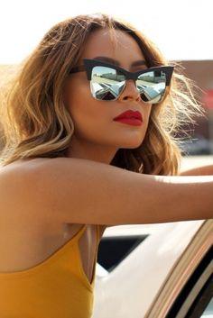 Quay X Desi - T.Y.S.M Sunglasses - Black