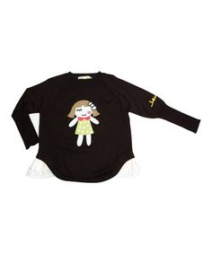Take a look at this Black Doll Sweater - Toddler & Girls on zulily today!