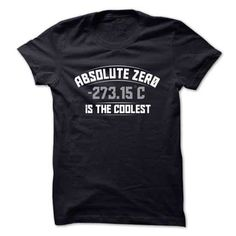 Absolute Zero Is The Coolest T-Shirts & Hoodies