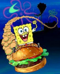 Resultado de imagen para Spongebob Krabbenburger