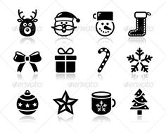 Christmas black icons with shadow set - santa, pre  #GraphicRiver         Xmas vector clean black icons set   FEATURES :   100% Vector Shapes  All groups have names  All elements are easy to modify – you can change coulours, size  Pack include version AI, EPS , JPG      Created: 7September12 GraphicsFilesIncluded: JPGImage #VectorEPS #AIIllustrator Layered: Yes MinimumAdobeCSVersion: CS Tags: app #application #art #black #bow #candystick #celebration #christmas #christmastree #collection…