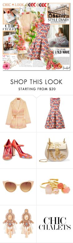 """,,What you gonna do when I'm gone?"""" by purplecherryblossom ❤ liked on Polyvore featuring Prada, Missoni, P.A.R.O.S.H., Dolce&Gabbana, Chloé, Kate Spade and Natasha"