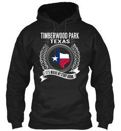 Timberwood Park, Texas - My Story Begins