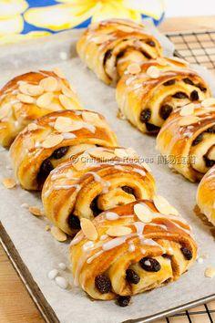 提子肉桂麵包 Raisin Cinnamon Breads01
