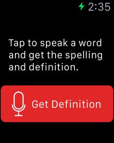 The Merriam Webster DictionaryApp