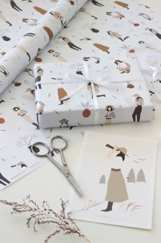 Micush is a vibrant home-based brand that produces a variety of lifestyle products such as paper goods, home decor, kitchenware, prints, textile and more! Paper Packaging, Gift Packaging, Gift Wraping, Diy Gift Box, Packaging Design Inspiration, Small Gifts, Illustration, Paper Crafts, Layout