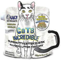 Litter 116363: Cats Incredible Unscented Superkittykattakalizmik Klumping Litter, 25 Lb -> BUY IT NOW ONLY: $36.29 on eBay!