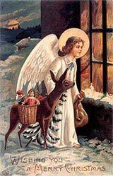 Julemanden, hvem var han? Christkind | Rumpenissen