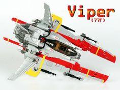 Viper 77F: A LEGO® creation by Mark Stafford : MOCpages.com