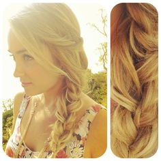 Cute summer braid.