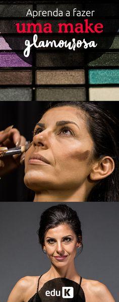 Vem aprender a fazer makes glamourosas em nossa site! Você vai ficar linda :)