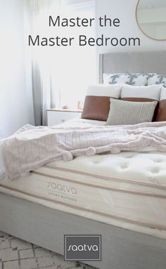 Saatva Luxury Mattress: Nationwide In Home Delivery & Installation. 120-Day Trial.